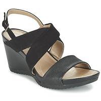 Topánky Ženy Sandále Geox D NEW RORIE A Čierna