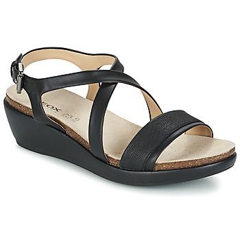 Topánky Ženy Sandále Geox D ABBIE A čierna