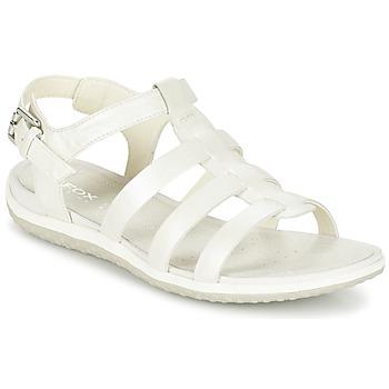 Topánky Ženy Sandále Geox D SAND.VEGA A Biela