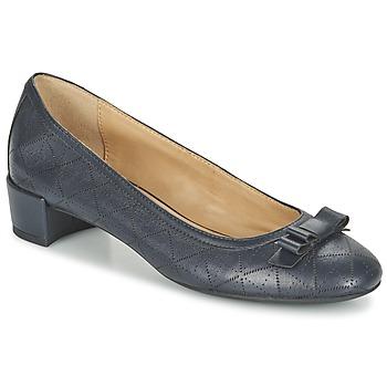Topánky Ženy Balerínky a babies Geox D CAREY A Námornícka modrá