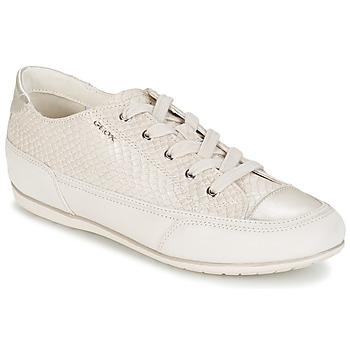 Topánky Ženy Nízke tenisky Geox NEW MOENA Biela
