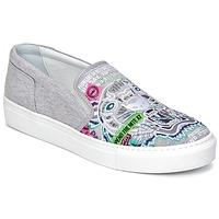 Topánky Ženy Slip-on Kenzo K-SKATE šedá