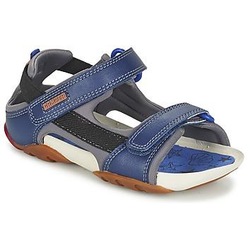 Topánky Chlapci Sandále Camper OUS Námornícka modrá