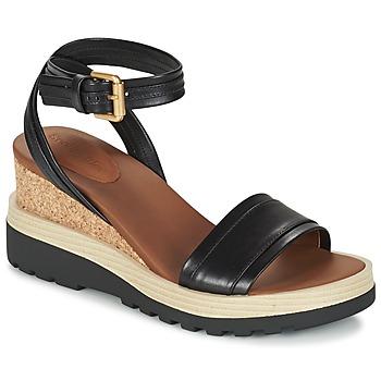 Topánky Ženy Sandále See by Chloé SB26094 čierna