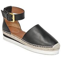 Topánky Ženy Espadrilky See by Chloé SB26150 čierna