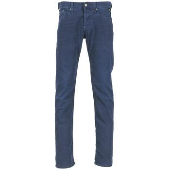 Oblečenie Muži Rovné džínsy Replay WAITOM Námornícka modrá