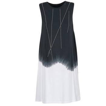 Oblečenie Ženy Krátke šaty Replay WOOPINA čierna / Biela