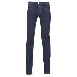 Oblečenie Muži Džínsy Slim Replay WOUAPO Modrá / Raw