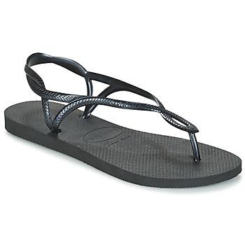 Topánky Ženy Žabky Havaianas LUNA Čierna