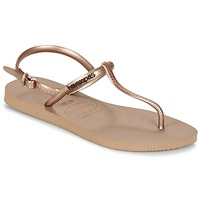 Topánky Ženy Žabky Havaianas FREEDOM Ružová / Zlatá