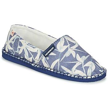 Topánky Espadrilky Havaianas ORIGINE ORQUIDEAS Námornícka modrá / Biela