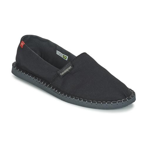 Topánky Espadrilky Havaianas ORIGINE III Čierna