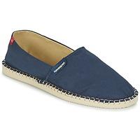 Topánky Espadrilky Havaianas ORIGINE III Námornícka modrá / Béžová