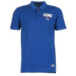 Oblečenie Muži Polokošele s krátkym rukávom Puma STYLE TEC POLO Modrá