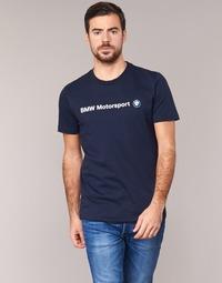 Oblečenie Muži Tričká s krátkym rukávom Puma BMW MSP LOGO TEE Námornícka modrá