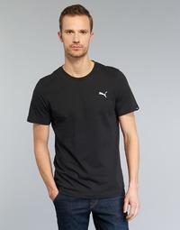 Oblečenie Muži Tričká s krátkym rukávom Puma ESS TEE Čierna