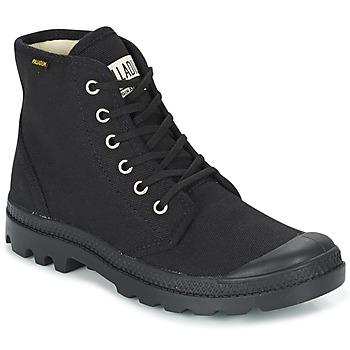Topánky Polokozačky Palladium PAMPA HI ORIG U Čierna