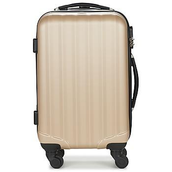 Tašky Pevné cestovné kufre David Jones CHAUVETTA Zlatá