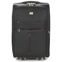 Tašky Pružné cestovné kufre David Jones JAVESKA 49L Čierna