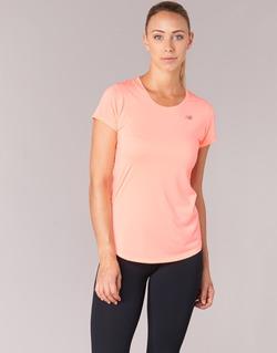 Oblečenie Ženy Tričká s krátkym rukávom New Balance ACCELERATE T Koralová