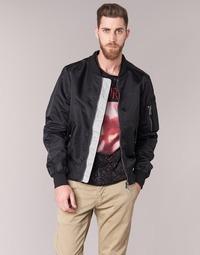 Oblečenie Muži Bundy  Eleven Paris JUXY Čierna