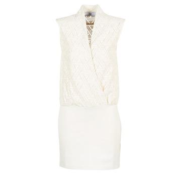 Oblečenie Ženy Krátke šaty Le Temps des Cerises SHERY Biela