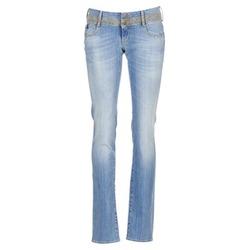 Oblečenie Ženy Rovné džínsy Le Temps des Cerises 220 Modrá