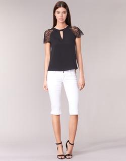 Oblečenie Ženy Nohavice 7/8 a 3/4 Le Temps des Cerises NINA Biela