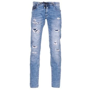Oblečenie Muži Džínsy Slim Le Temps des Cerises 711 JOGG Modrá / Clear
