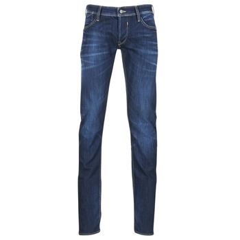 Oblečenie Muži Rovné džínsy Le Temps des Cerises 711 Modrá
