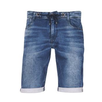 Oblečenie Muži Šortky a bermudy Le Temps des Cerises JOGG SHORT Modrá / Medium
