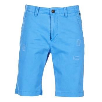 Oblečenie Muži Šortky a bermudy Petrol Industries CHINO Modrá