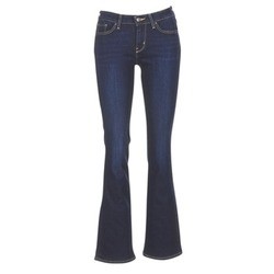 Oblečenie Ženy Džínsy Bootcut Levi's 715 BOOTCUT Modrá