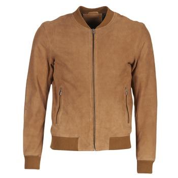 Oblečenie Muži Kožené bundy a syntetické bundy Selected MARK ťavia hnedá