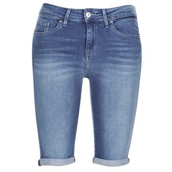 Oblečenie Ženy Šortky a bermudy Tommy Hilfiger VENICE RW BERMUDA ELOISE Modrá