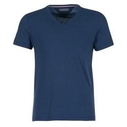 Oblečenie Muži Tričká s krátkym rukávom Tommy Hilfiger HTR END ON END Námornícka modrá