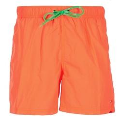 Oblečenie Muži Plavky  Tommy Hilfiger SOLID SWIM TRUNK Oranžová