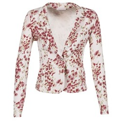 Oblečenie Ženy Saká a blejzre Les P'tites Bombes OSIDOULE Biela / Červená
