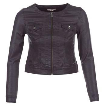 Oblečenie Ženy Džínsové bundy Les P'tites Bombes OMILATE čierna