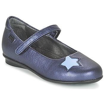 Topánky Dievčatá Balerínky a babies Camper TWS Modrá