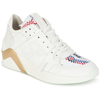 Topánky Ženy Členkové tenisky Serafini CHICAGO Biela / Zlatá