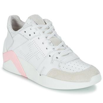 Topánky Ženy Členkové tenisky Serafini CHICAGO Biela / Ružová