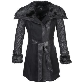 Oblečenie Ženy Kabáty Morgan GEFROU Čierna