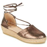 Topánky Ženy Sandále Betty London GIORDA Bronzová