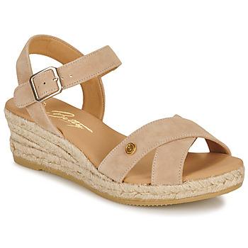 Topánky Ženy Sandále Betty London GIORGIA Hnedošedá