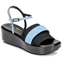 Topánky Ženy Sandále Robert Clergerie PODDY Čierna / Modrá