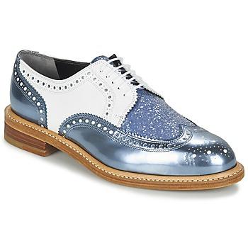 Topánky Ženy Derbie Robert Clergerie ROELTM Modrá / Metalická / Biela