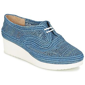 Topánky Ženy Derbie Robert Clergerie VICOLEM Modrá