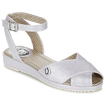 Topánky Ženy Sandále Miss L'Fire HARLOW Strieborná