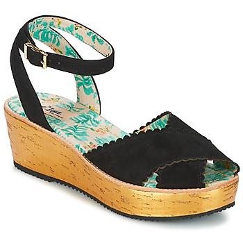 Topánky Ženy Sandále Miss L'Fire MARCIE Čierna